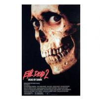 Evil Dead II Movie Poster