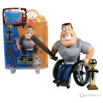 "Family Guy Series 3 Figure ""Joe Swanson"" by MEZCO."