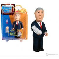 "Family Guy Series 3 Figure ""Mayor West"" by MEZCO."