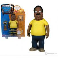 "Family Guy Series 4 Figure ""Cleveland"" by MEZCO."
