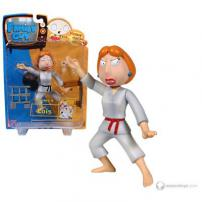 "Family Guy Series 4 Figure ""Lethal Lois Griffin"" by MEZCO."