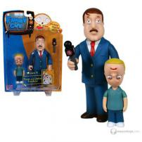 "Family Guy Series 4 Figure ""Tom & Jake Tucker"" by MEZCO."