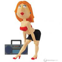 "Family Guy Series 7 Figure ""Bad Girl Lois Griffin"" by MEZCO."