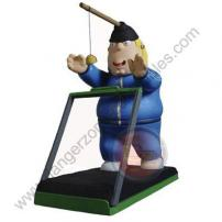"Family Guy Series 8 Figure ""Exercise Chris"" by MEZCO."
