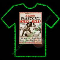 Faster Pussycat Horror T-Shirt by Fright Rags - EXTRA LARGE