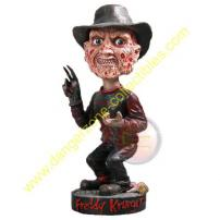 A Nightmare On ELM St Freddy Krueger Resin Bobble Head Knocker by NECA.