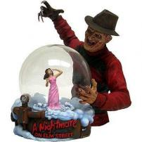 A Nightmare On Elm St Freddy Krueger Horror Globe by NECA