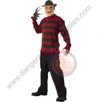 A Nightmare On Elm St Freddy Krueger Deluxe Sweater (Size Std) by Rubie's.
