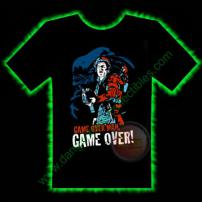 Game Over Alien Horror T-Shirt by Fright Rags - LARGE
