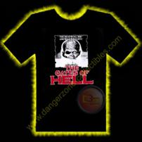 Gates Of Hell Horror T-Shirt by Rotten Cotton - SMALL