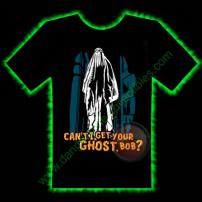 Ghost Bob Horror T-Shirt by Fright Rags - LARGE