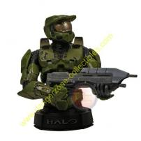 HALO 3 Master Chief Mini Bust (Green) by Gentle Giant