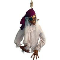 Hanging Pirate Prop by Bump In The Night Productions.