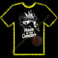 House By The Cemetery #1 Horror T-Shirt by Rotten Cotton - SMALL