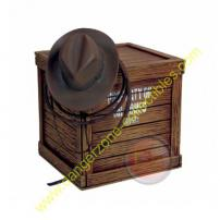 Indiana Jones Harrison Ford Artifact Crate Paperweight by Gentle Giant.
