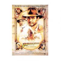 Indiana Jones Harrison Ford Last Crusade Movie Poster