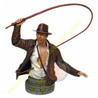 Indiana Jones Harrison Ford Mini Bust by Gentle Giant.