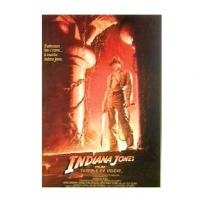 Indiana Jones Harrison Ford Temple Of Doom Movie Poster