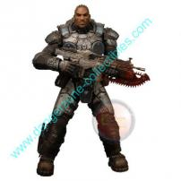 Gears Of War 3 SDCC Jace Stratton Figure by NECA