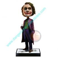 Batman The Dark Knight The Joker 2 Bobble Head Knocker by NECA