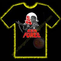 Ken Foree Horror T-Shirt by Rotten Cotton - EXTRA LARGE