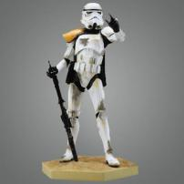 "Star Wars Sandtrooper EP 4 ""Snap Fit"" Soft Vinyl 7th Scale Kit by Kotobukiya"