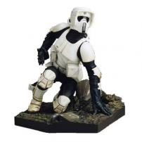 "Star Wars Scout Trooper EP 6 ""Snap Fit"" Soft Vinyl 7th Scale Kit by Kotobukiya"