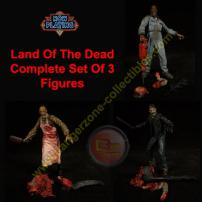Now Playing Land Of The Dead Complete Set Of 3 Figures by SOTA.