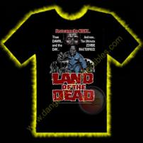 Land Of The Dead Horror T-Shirt by Rotten Cotton - LARGE