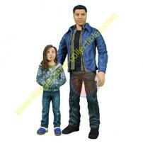 Heroes Series 2 Matt Parkman & Molly Action Figures by MEZCO.