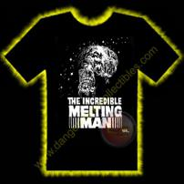 The Incredible Melting Man Horror T-Shirt by Rotten Cotton - SMALL