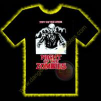 Night Of The Zombies Horror T-Shirt by Rotten Cotton - MEDIUM