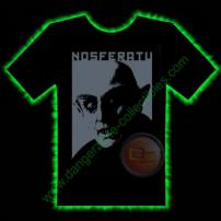 Nosferatu Horror T-Shirt by Fright Rags - LARGE