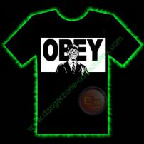 OBEY Horror T-Shirt by Fright Rags - LARGE