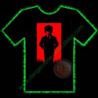 Omen Damien Horror T-Shirt by Fright Rags - SMALL
