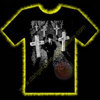 Omen Damien Horror T-Shirt by Rotten Cotton - SMALL