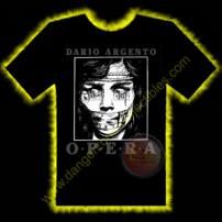 Dario Argento OPERA Horror T-Shirt by Rotten Cotton - EXTRA LARGE