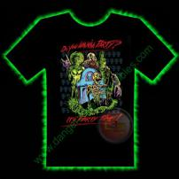 Party Time Horror T-Shirt by Fright Rags - LARGE