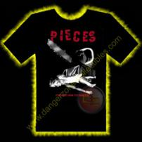 Pieces Horror T-Shirt by Rotten Cotton - EXTRA LARGE