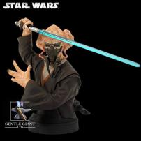 Star Wars Plo Koon Mini Bust by Gentle Giant.