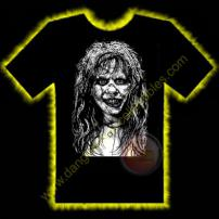 Possessed Girl Horror T-Shirt by Rotten Cotton - LARGE