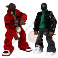 Public Enemy Chuck D & Flavor Flav Twin Pack by MEZCO.