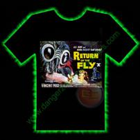 Return Of The Fly Horror T-Shirt by Fright Rags - SMALL