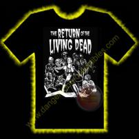 The Return Of The Living Dead Horror T-Shirt by Rotten Cotton - LARGE