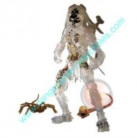 Alien vs Predator 2 Requiem Mid-Cloak Predator Figure by NECA.