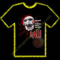 Saw Puppet Horror T-Shirt by Rotten Cotton - SMALL