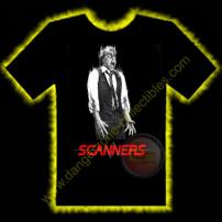 Scanners Horror T-Shirt by Rotten Cotton - LARGE
