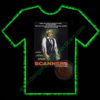 Scanners Horror T-Shirt by Fright Rags - EXTRA LARGE