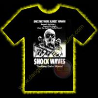 Shockwaves Horror T-Shirt by Rotten Cotton - SMALL