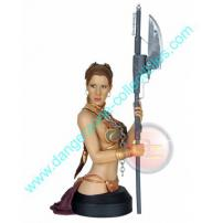 Star Wars Slave Princess Leia Mini Bust by Gentle Giant.
